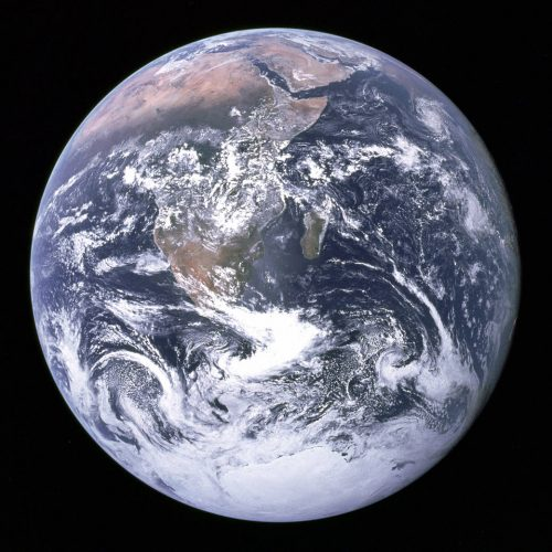 """Blue Marble"" - one of the most reproduced photographs in history. Credit: NASA"
