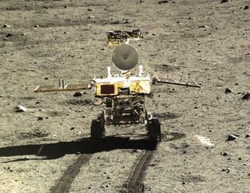 "China's Yutu ""Jade Rabbit"" rover"
