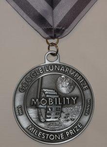 GLXP Milestone Prize for our rover